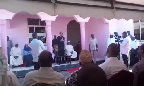 Hatutageuza tena shavu la pili - Maalim Seif