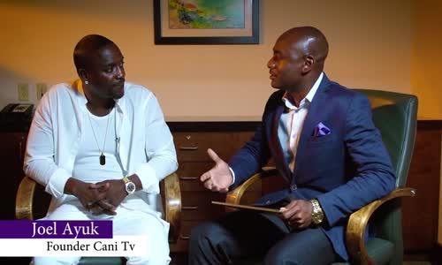Mwanamuziki Akon akizungumzia Project yake ya Akon Lighting Africa