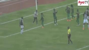 All goal_ Yanga vs TP Mazembe June 28 2016, Full Time 0-1.